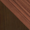 Request Free Walnut and Dark Brown Walnut Swatch for the Nelson Thin Edge Buffet by Herman Miller