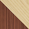 Request Free White Ash and Walnut Swatch for the Nelson Thin Edge Buffet by Herman Miller