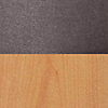 Request Free Gunmetal/Oak Swatch for the Chip Bar Stool by Blu Dot