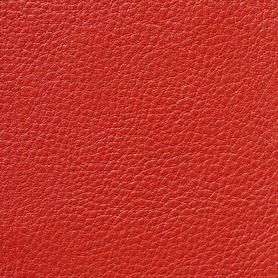 Red MCL Leather for Nelson Pedestal Stool by Herman Miller (PS16)