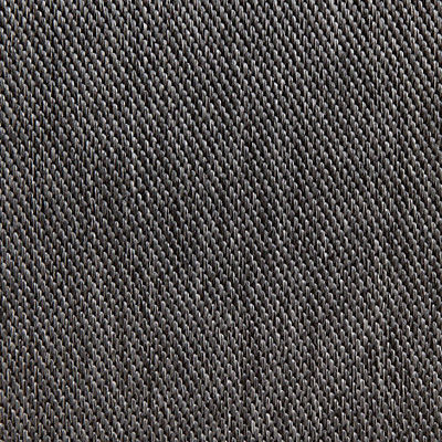 Graphite Weave for Eames Aluminum Outdoor Ottoman by Herman Miller (EA523)
