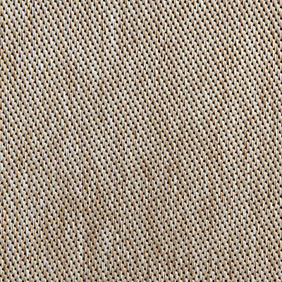 Jute Weave for Eames Aluminum Outdoor Ottoman by Herman Miller (EA523)