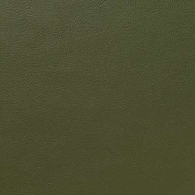 Olive Leather for Eames Soft Pad Ottoman by Herman Miller (EA423)