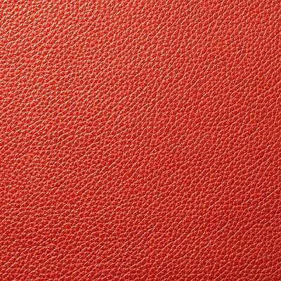 Burnt Orange All Grain Leather for Eames Soft Pad Ottoman by Herman Miller (EA423)