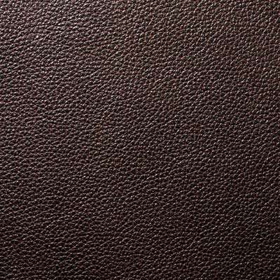 Pitch Brown All Grain Leather for Eames Aluminum Lounge Chair with Headrest by Herman Miller (EA322)