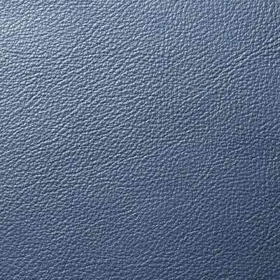 Tile Blue Dream Cow Leather for Eames Aluminum Lounge Chair with Headrest by Herman Miller (EA322)