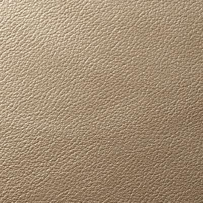 London Fog Metallic Leather for Eames Soft Pad Ottoman by Herman Miller (EA423)