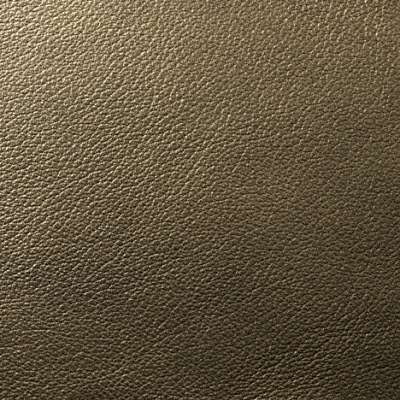 North Lights Metallic Leather for Eames Aluminum Lounge Chair with Headrest by Herman Miller (EA322)