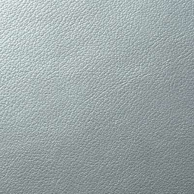 Storm Metallic Leather for Eames Soft Pad Ottoman by Herman Miller (EA423)
