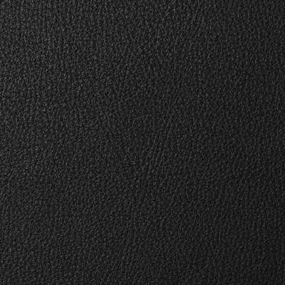 Black Royal Leather for Eames Ottoman by Herman Miller (ES671)