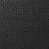 Request Free Perforated Black Royal Leather Swatch for the Replacement Cushion for Eames Lounge by Herman Miller