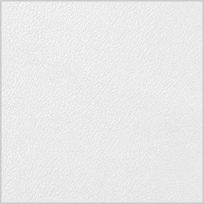 Super White Royal Leather for Eames Soft Pad Ottoman by Herman Miller (EA423)