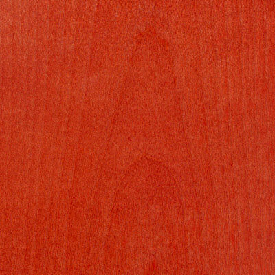 Red Stain for Eames Plywood Dining Chair with Metal Legs by Herman Miller (DCM)