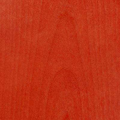 Red Stain for Eames Plywood Lounge Chair by Herman Miller, Upholstered (LCWU)
