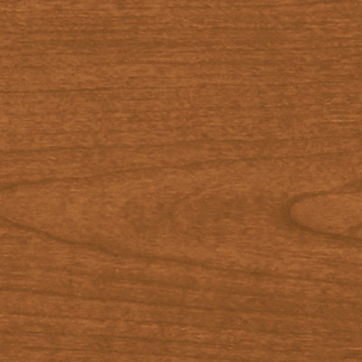 Request Free Bourbon Cherry Swatch for the Voi L-Shaped Desk with Layering Shelf by HON