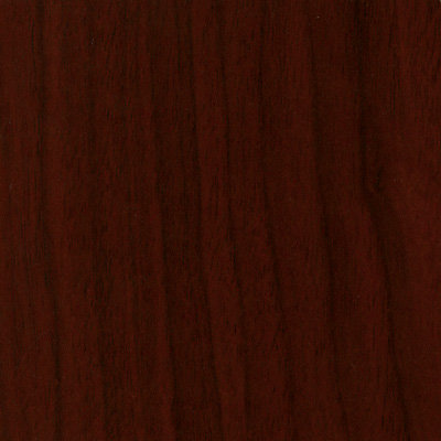 Request Free Mahogany Swatch for the Voi L-Shaped Desk with Layering Shelf by HON