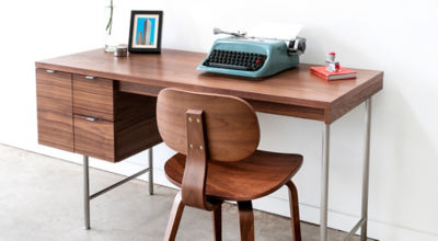 Mid Century Modern Office Desk Interior Design