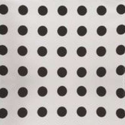 Black with White Polka Dots for Mademoiselle Printed Chair by Kartell (KTMMC)