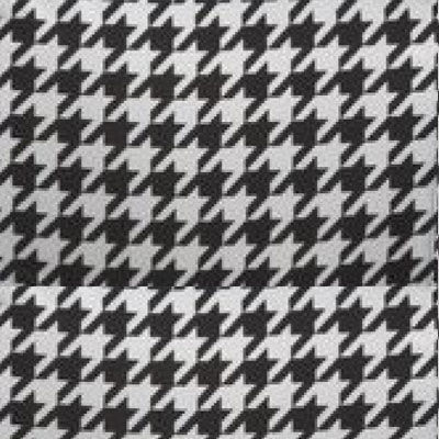 Pied de Pole Houndstooth for Mademoiselle Printed Chair by Kartell (KTMMC)