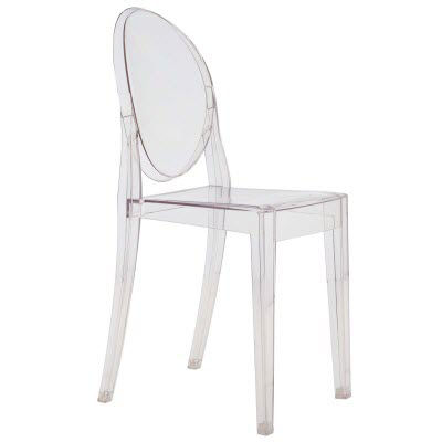 Crystal for Victoria Ghost Chair by Kartell, Set of 2 (KTVGC)