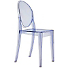 Request Free Light Blue Swatch for the Victoria Ghost Chair by Kartell, Set of 2
