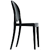 Request Free Black Swatch for the Victoria Ghost Chair by Kartell, Set of 2