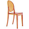 Request Free Orange Swatch for the Victoria Ghost Chair by Kartell, Set of 2