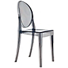 Request Free Smoke Grey Swatch for the Victoria Ghost Chair by Kartell, Set of 2