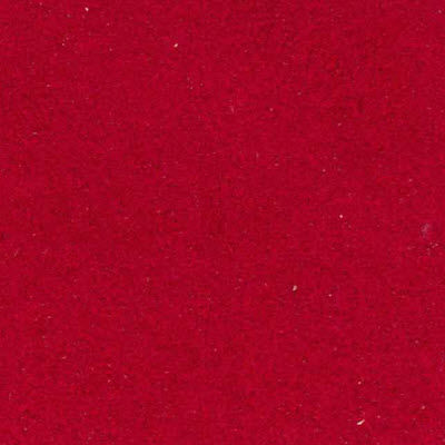Red Ultrasuede for Saarinen Executive Armless Chair, Plastic Back by Knoll (KN72)