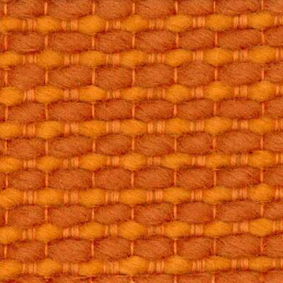 Orange Cato for Bertoia Stool Fully Upholstered by Knoll (KN4278CU)
