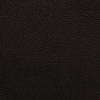 Black Vicenza Leather for Pollock Executive Armchair by Knoll (KN12)