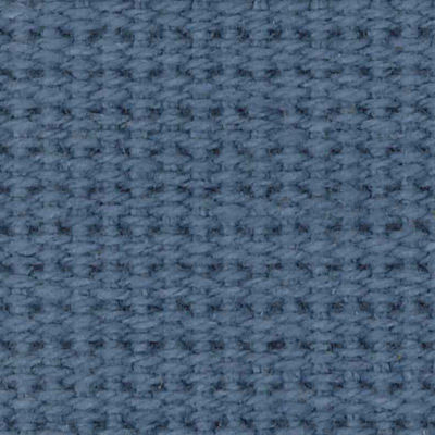Steel Blue Cotton Webbing for Risom Lounge Chair with Arms by Knoll (KN654LA)
