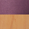 Request Free Purple/Oak Swatch for the Chip Bar Stool by Blu Dot