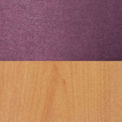 Purple/Oak for Chip Dining Chair by Blu Dot (CH1CHR)