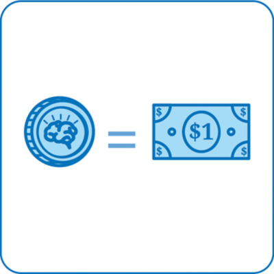 Smart Cash is like money that can be used on SmartFurniture.com