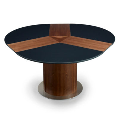 Skovby Round Expanding Dining Table SM 32 Smart Furniture