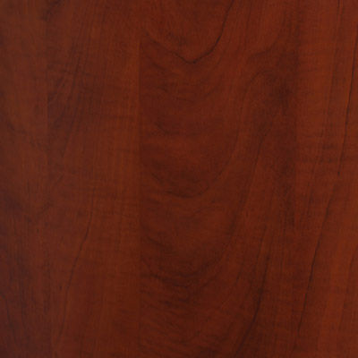 "Marbled Cherry for Currency 60"" Single Pedestal Desk by Steelcase, Right Hand (TS5TLDR)"