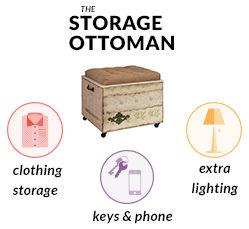 Storage Ottoman Mobile
