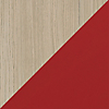 Request Free Drift Oak, Cayenne Swatch for the Margo Cabinet by BDI