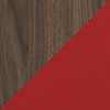 Request Free Toasted Walnut, Cayenne Swatch for the Margo Cabinet by BDI