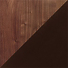 Request Free Walnut/Dark Chocolate Maple Swatch for the Astrid 2 Drawer Nightstand by Copeland Furniture