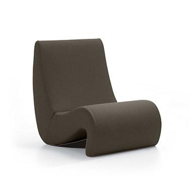 viamoebe-HIGHBACK-MATTE BLUE: Customized Item of Amoebe Chair by Vitra (viamoebe)
